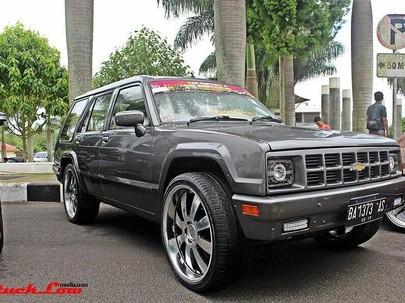 Chevrolet Luv, Sudah Mengabdi Selama 30 Tahun