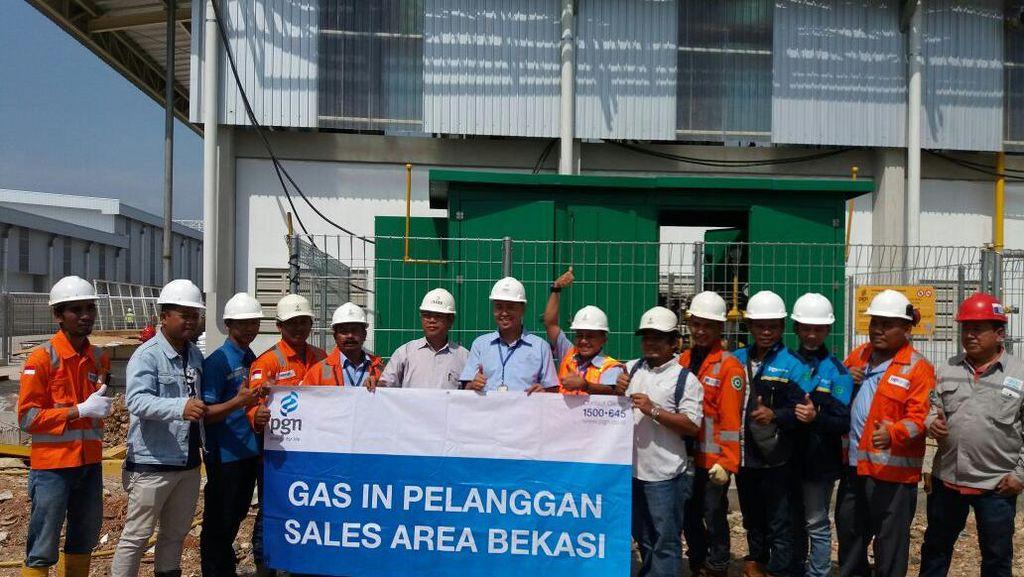 Bisa Hemat 40%, Pabrik Kertas Ini Beralih ke Gas Bumi PGN