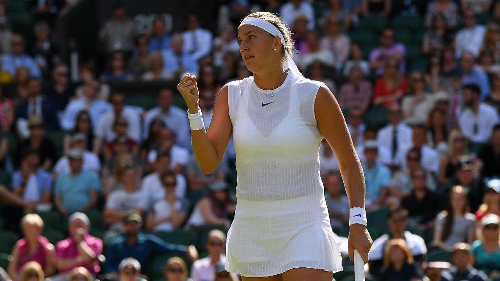 Kvitova, Venus Melewati Ujian Pertama