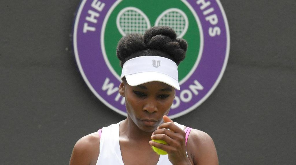 Tangisan Venus Williams