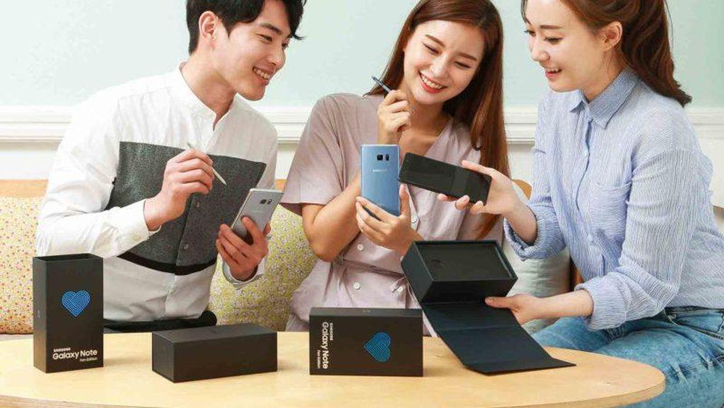 Galaxy Note 7 Bangkit Kembali dan Siap Dijual, Begini Tampangnya