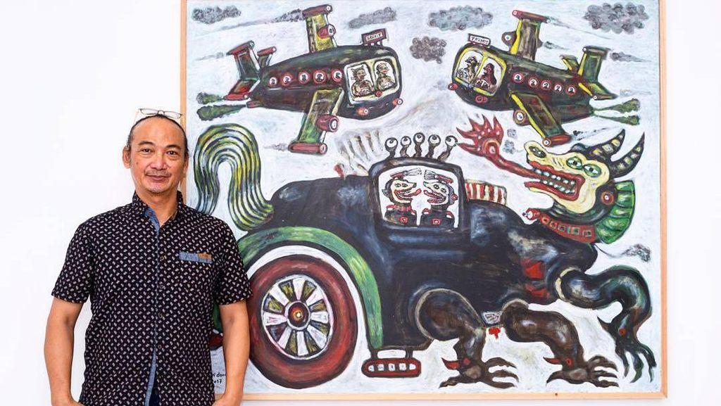 Heri Dono Pameran Tunggal di Tang Contemporary Art Hong Kong
