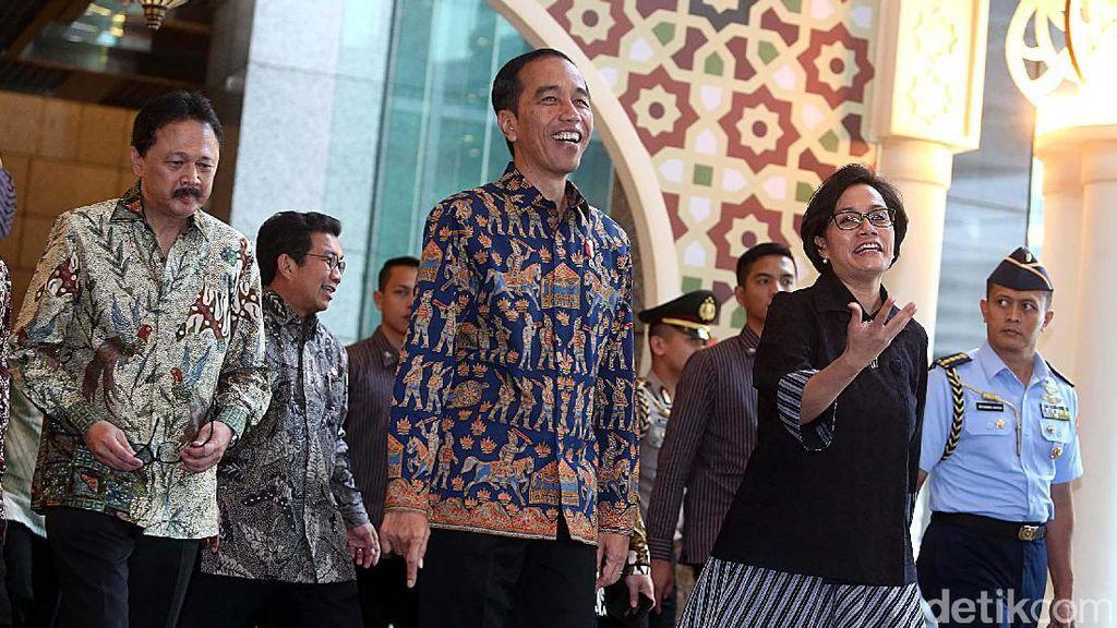 Jokowi Dialog dengan Pelaku Pasar Modal