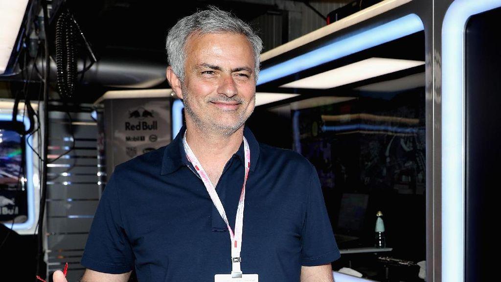 Kisah Jose Mourinho Curi Trofi Wimbledon Punya Andy Murray