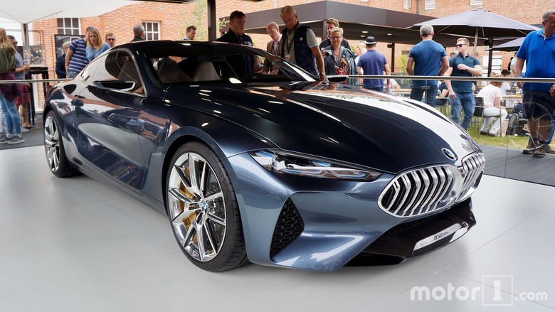 BMW Seri 8 Konsep, Super Cantik!