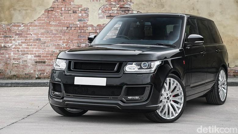Land Rover Siapkan Pesaing Bentley Bentayga