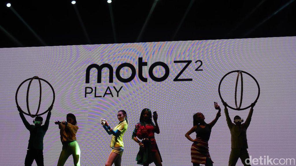 Moto Z2 Play Sudah Tiba