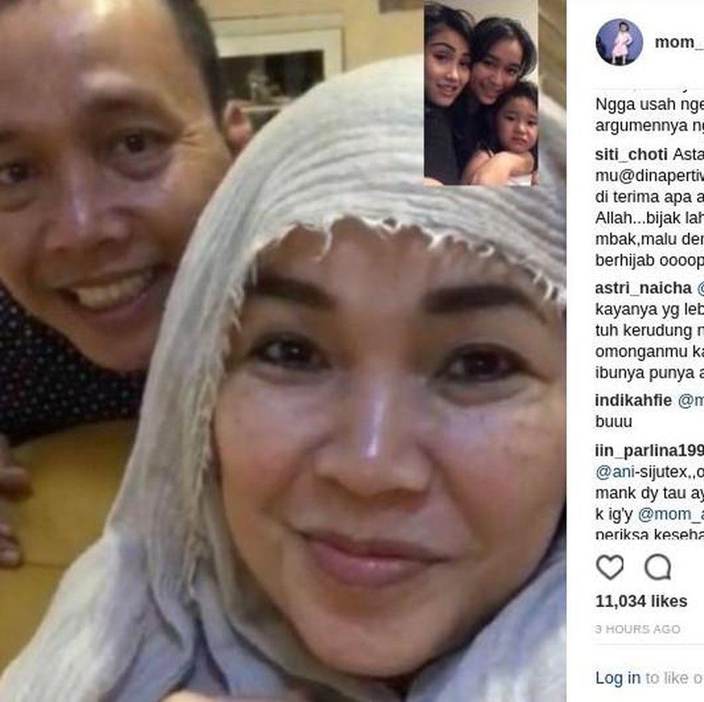 Berulang Kali Salah Log In Akun Instagram, Umi Kalsum Jadi Bahan Candaan