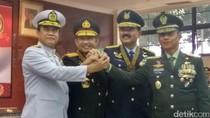Berjasa bagi Polri, KSAU Dianugerahi Bintang Bhayangkara Utama