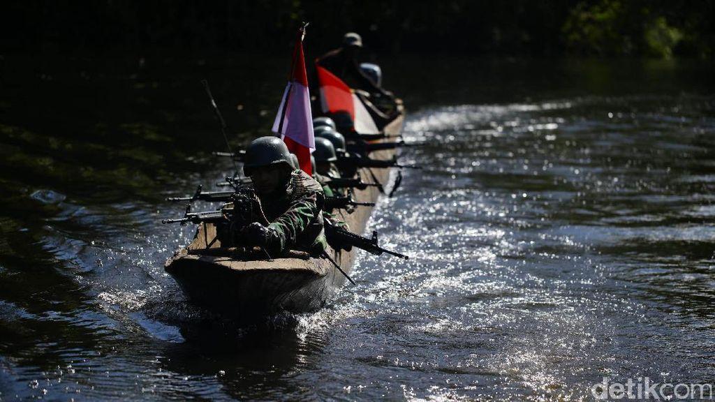Gerilya Para TNI di Perbatasan Kaliwanggo