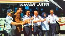 Kemenhub Luncurkan Bus Tingkat Antar Kota Antar Provinsi