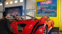 Foto: Ferrari Listrik Dahlan Iskan yang Tinggal Kenangan