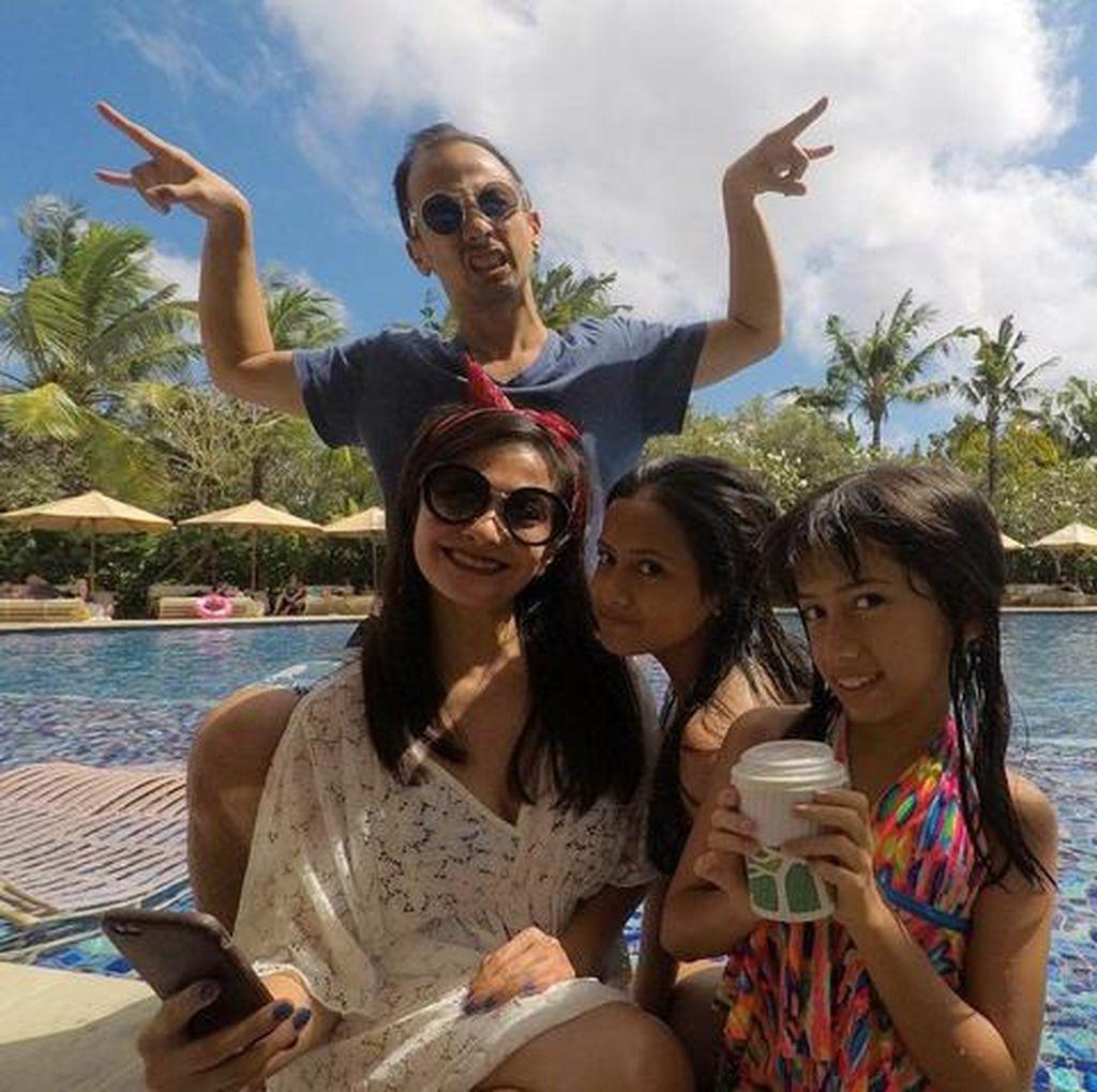 <i>Happy Holiday</i>! Liburan Seru Keluarga Ersa Mayori di Bali
