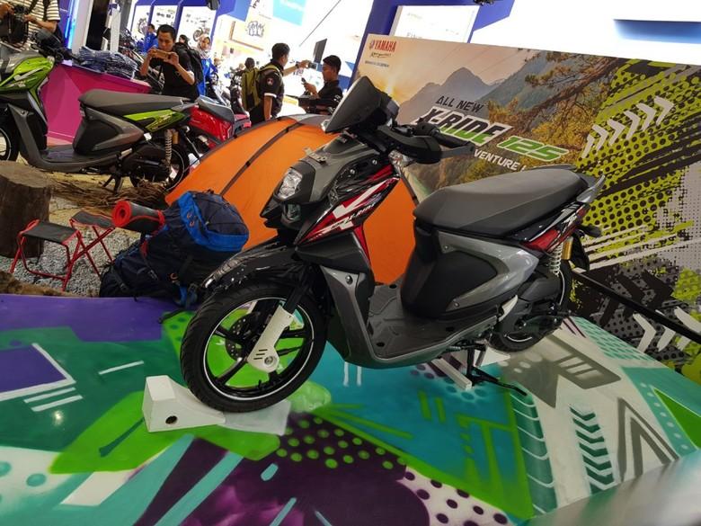 Aksesori Tough and Fun All New X-Ride 125
