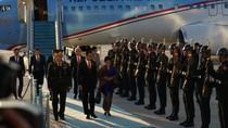 Momen Kedatangan Rombongan Presiden Jokowi dan Keluarga di Turki