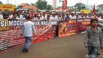 Demo Lagi, Ratusan Sopir Tangki Pertamina Datangi Kemnaker