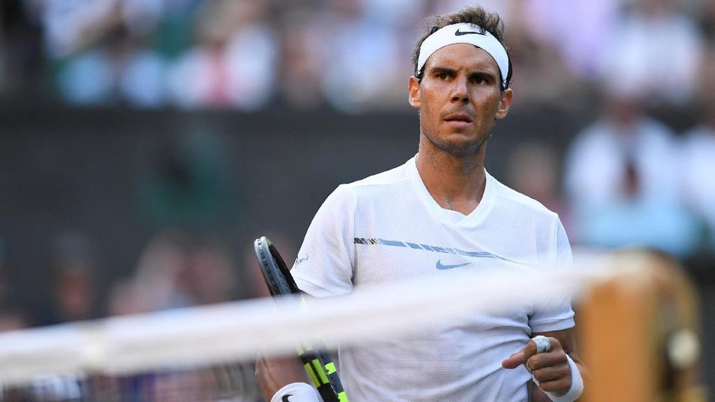 Nadal Dinilai Kalah Hebat Dari Federer