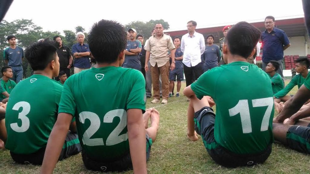 Pesan Edy Rahmayadi untuk Timnas U-16 yang Akan Tarung di Thailand