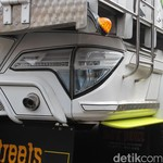 Lagi Ngetren, Truk Pakai Lampu Mobil SUV Pajero, HR-V, Fortuner