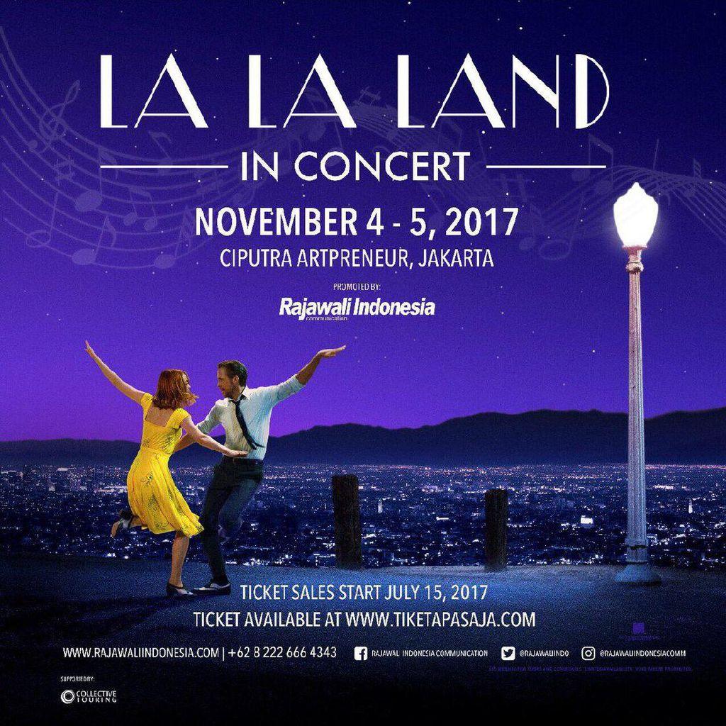 4 Hari Dijual, Tiket Konser Musikal La La Land Hampir Ludes