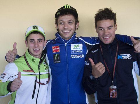 Menantikan Duel Guru-Murid, Rossi vs Morbidelli