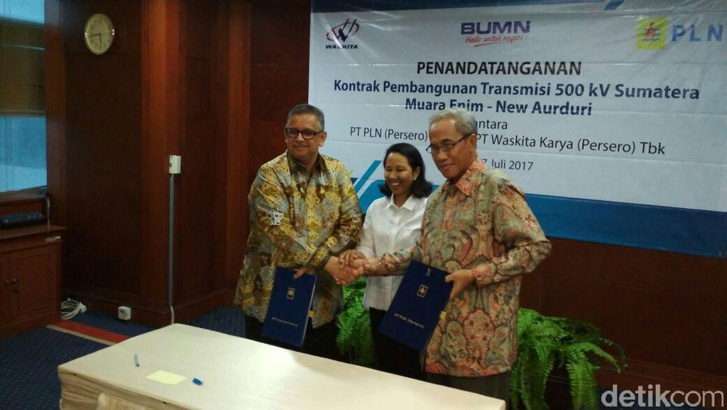 Proyek Tol Listrik Rp 3 Triliun di Sumatera Dimulai