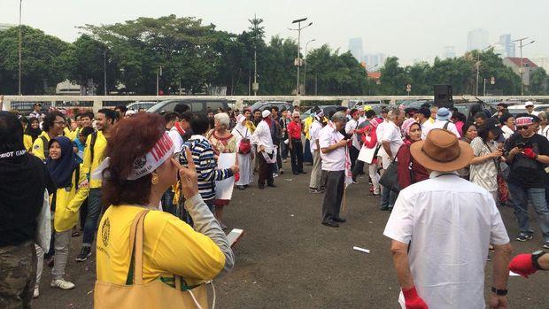 Pantauan situasi aksi ILUNI UI di DPR