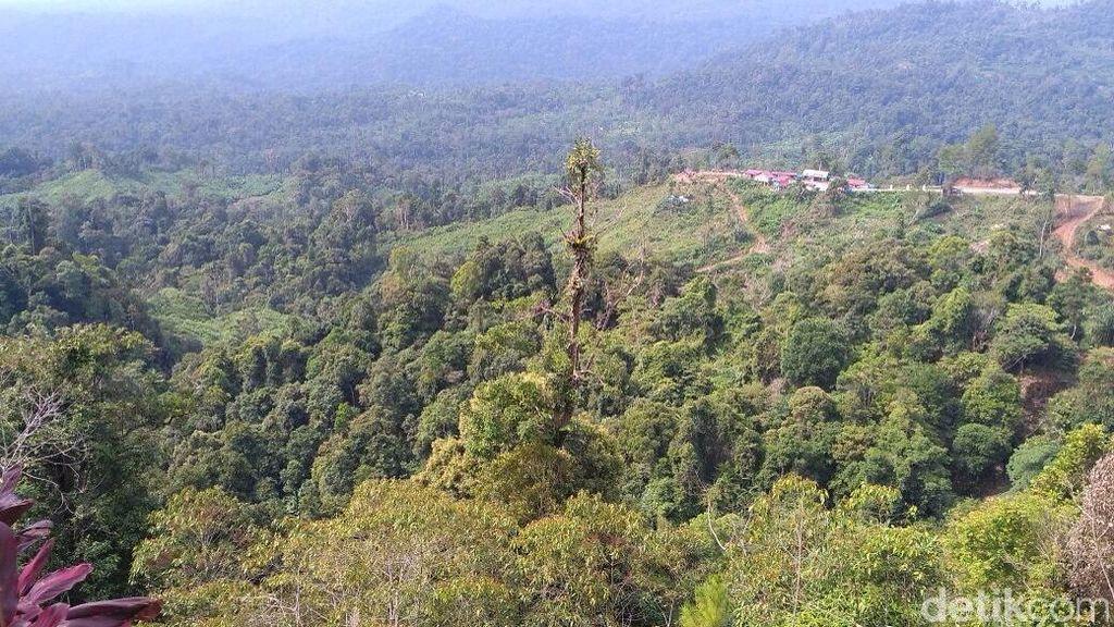 Bukan, Gunung Salak yang Cantik Ini Bukan di Jawa Barat