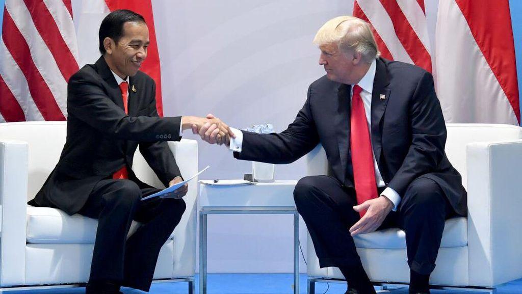 Pujian untuk Trump: Dulu Yes Highly Novanto, Kini Jokowi