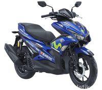 Yamaha Aerox Movistar