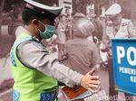 Selama 2 Hari, 321 Pemotor Ditilang karena Masuki JLNT Casablanca