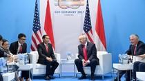 Bertemu Trump, Jokowi: Salam dari Jutaan Penggemar Anda di RI