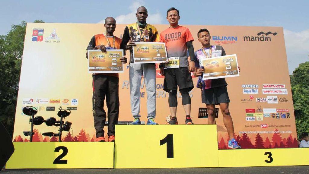 Pelari Kenya Menangi Bogor Sundown Marathon 2017