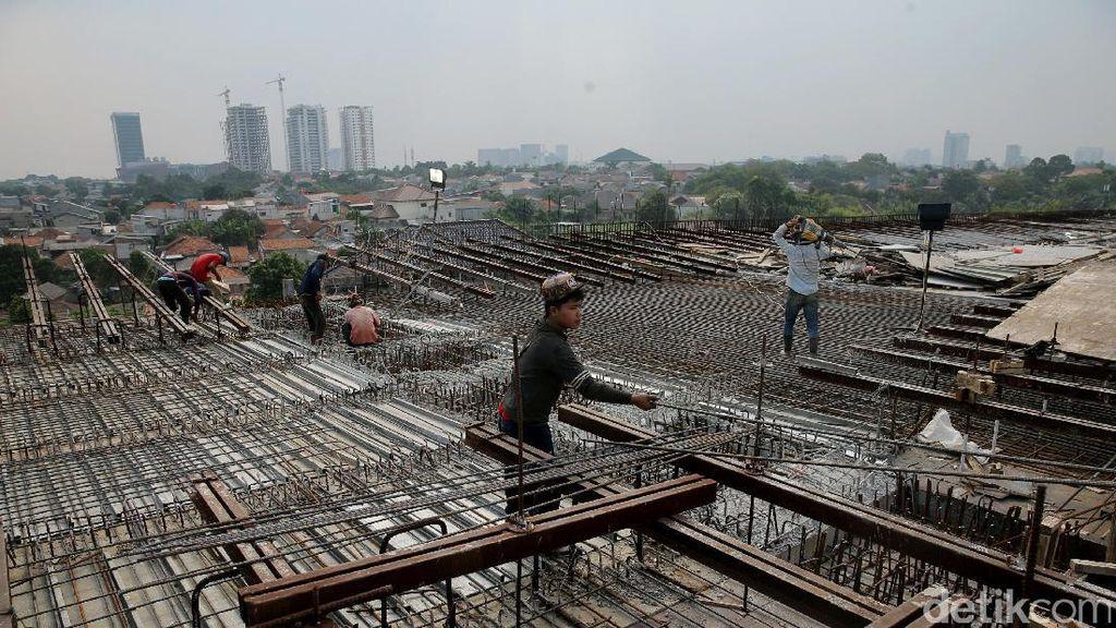 Sudah 1 Tahun Dibangun, Tol Desari Ruas Antasari-Cinere Capai 63%