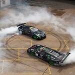 Battledrift Adu Lamborghini vs Nissan GT-R