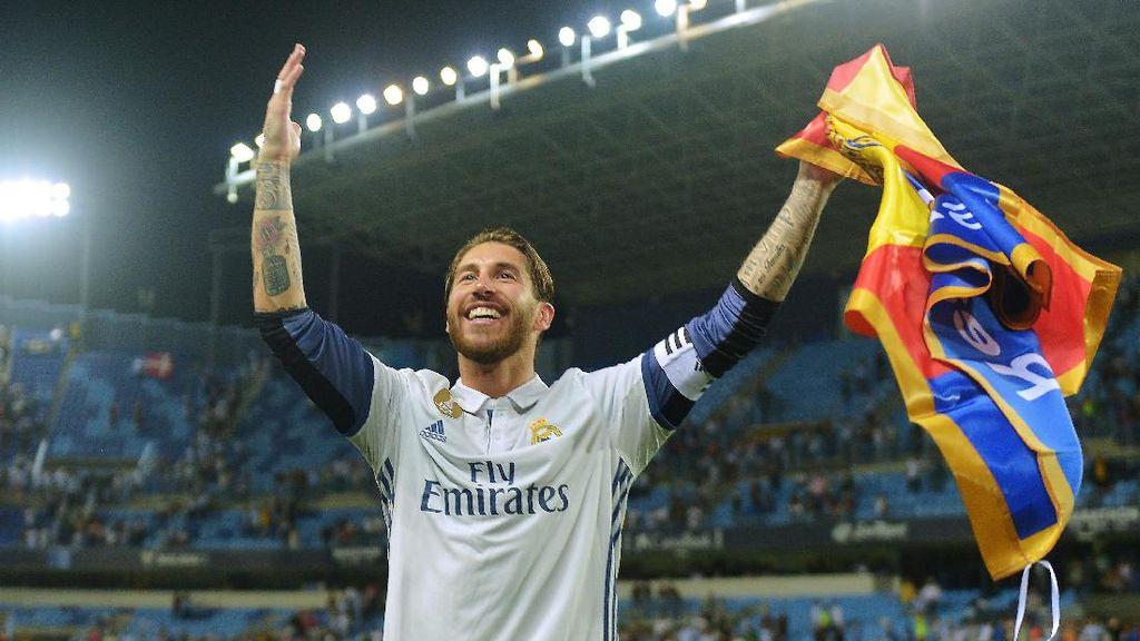 Ramos Ungkap Rahasia Produktif Sumbang Gol