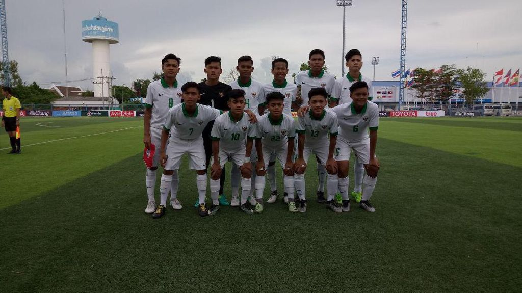 Indonesia Digilas Australia 3-7