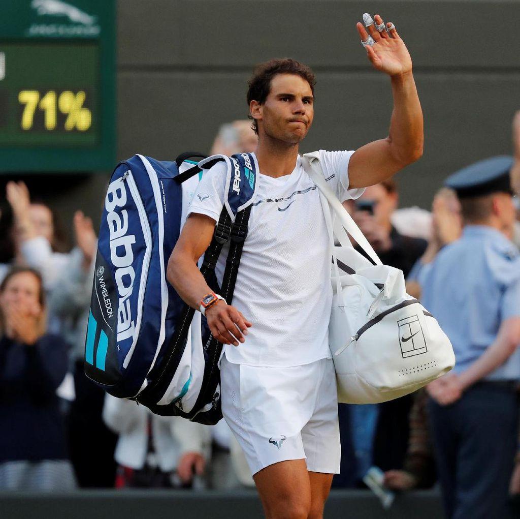 Wimbledon Masih Belum Ramah untuk Nadal