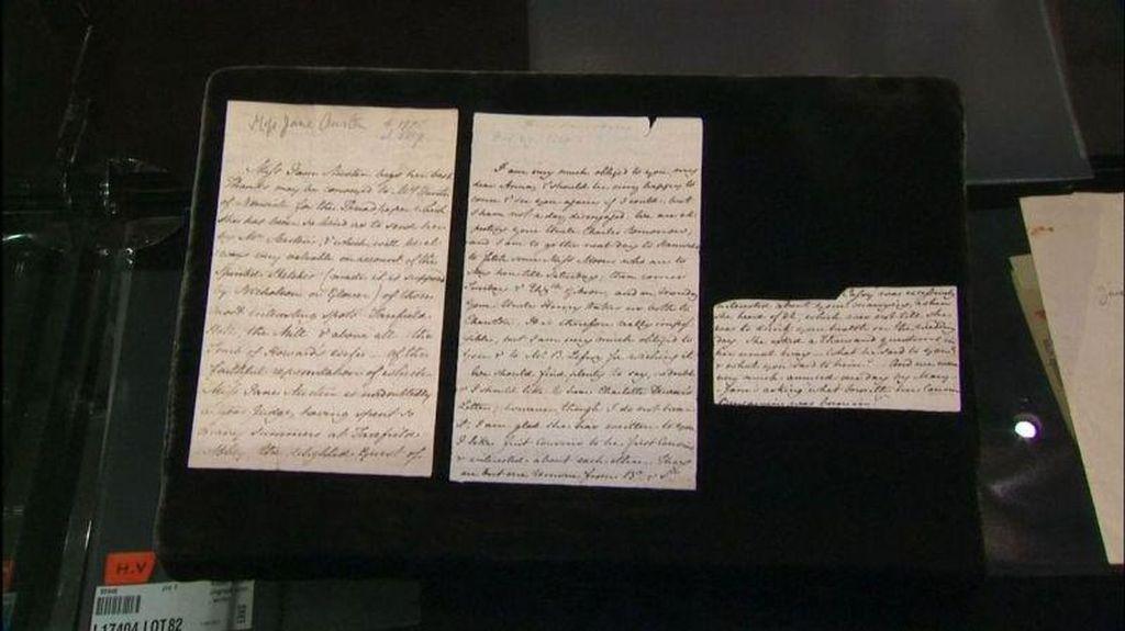 Surat Langka Novelis Jane Austen Dilelang Rp 1,3 Miliar