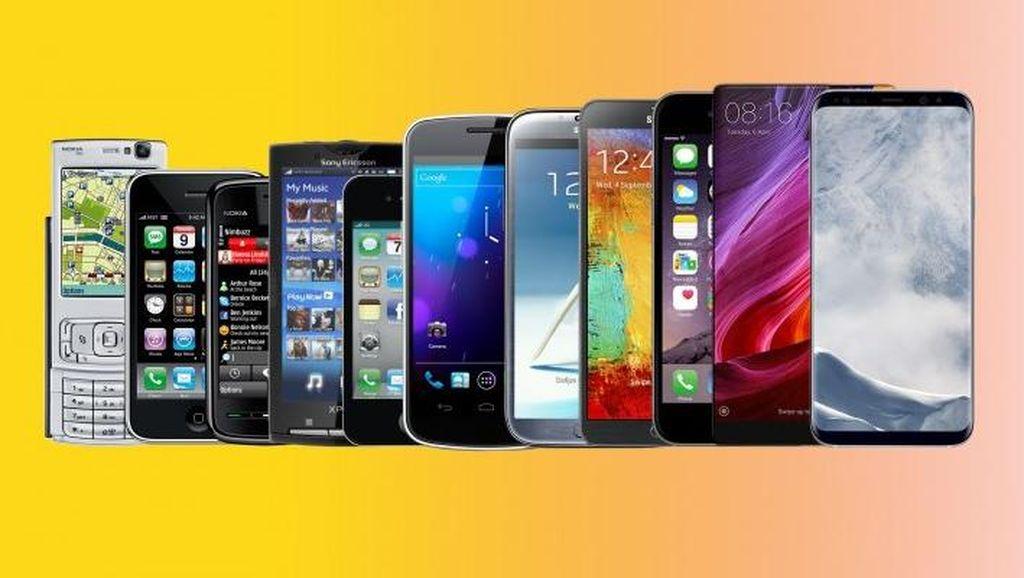 Satu Dekade Evolusi Layar Ponsel yang Mencengangkan