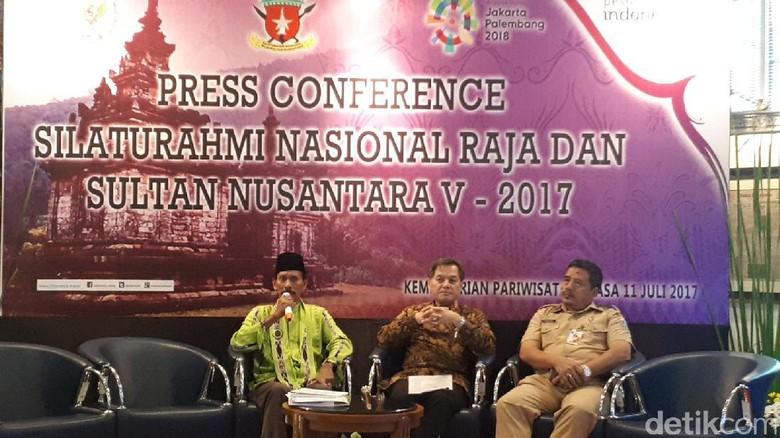 Foto: Silaturahmi Nasional Raja-Raja Se-Indonesia (Afif/detikTravel)