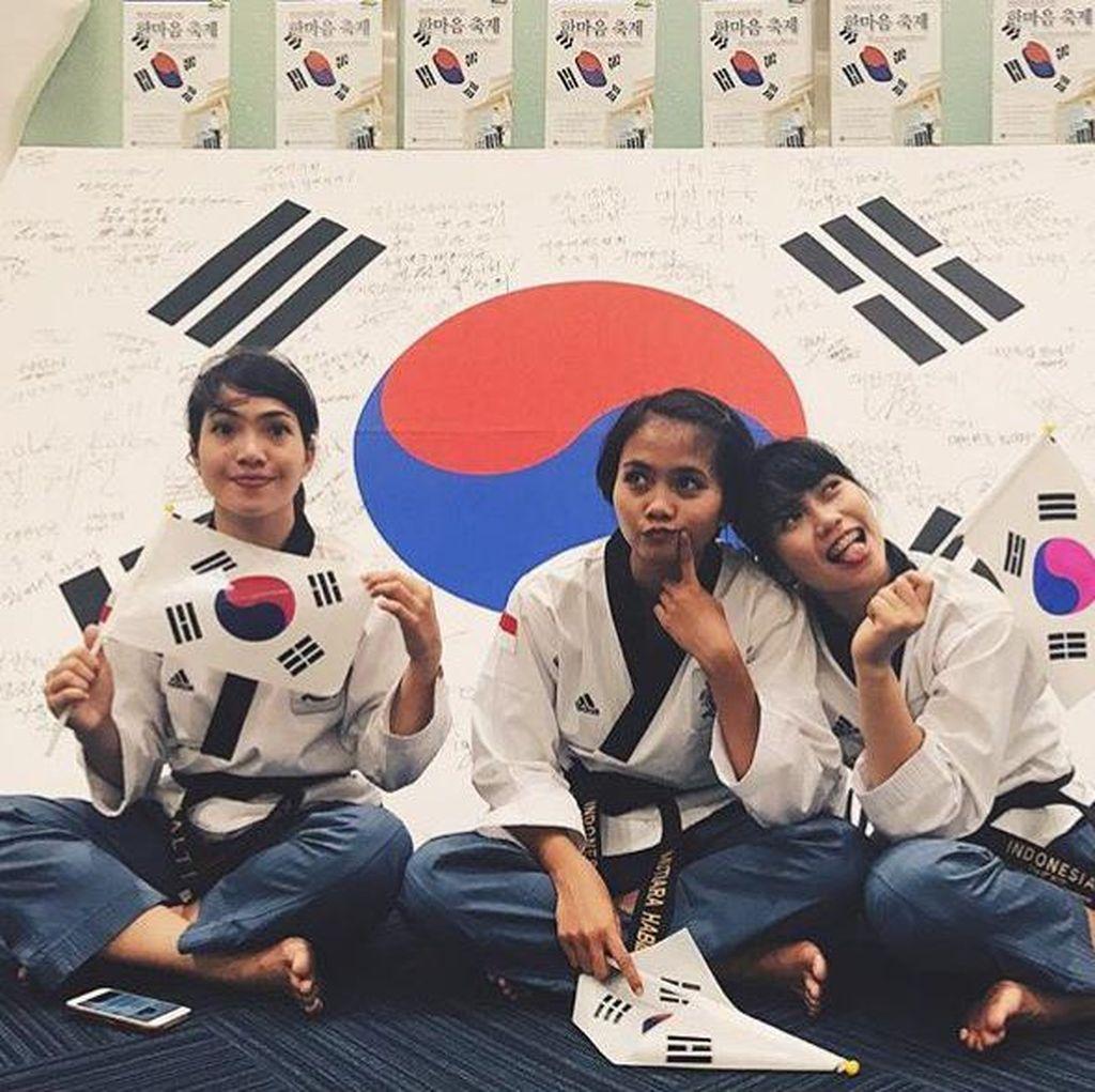 Yuk, Kepoin Aktivitas Timnas Taekwondo Putri yang Dipoles Pelatih Korea!