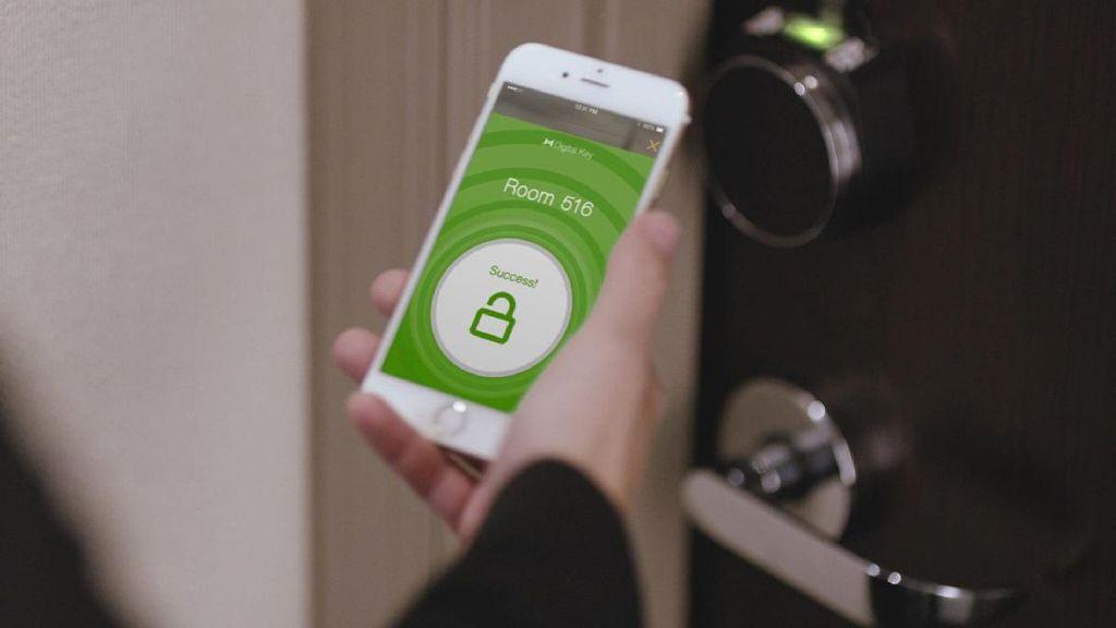 Hotel Hilton Manfaatkan Smartphone Sebagai Kunci Kamar