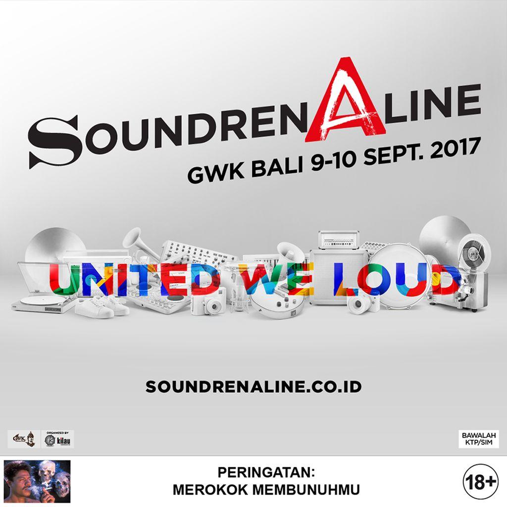 Selain JET, Dashboard Confessional dan MEW Gabung ke Soundrenaline 2017