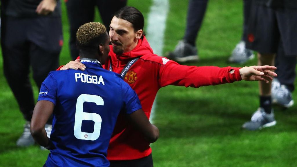 Pogba: Ibrahimovic Pemimpin yang Hebat