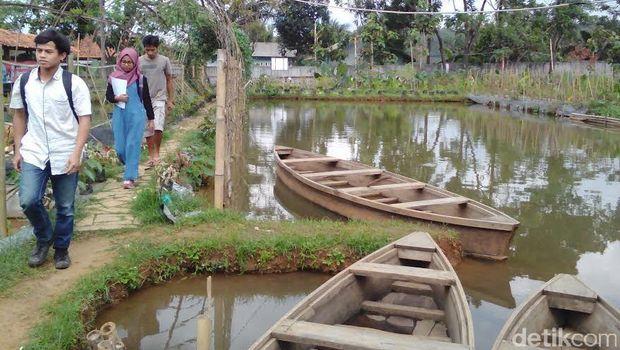 Kampus Kampung Sidat Banyumas Karena Dihidupi oleh Ikan Sidat