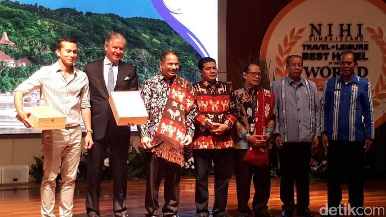 Foto: Suasana Press Conference Nihi Sumba Island di Kemenpar (Randy/detikTravel)
