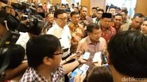 Soal Reshuffle Kabinet, Wapres JK: Tanya Jokowi