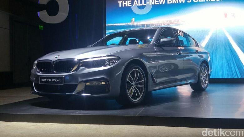 Mobil Bos BMW Seri 5 Masih Ada yang Didatangkan dari Jerman