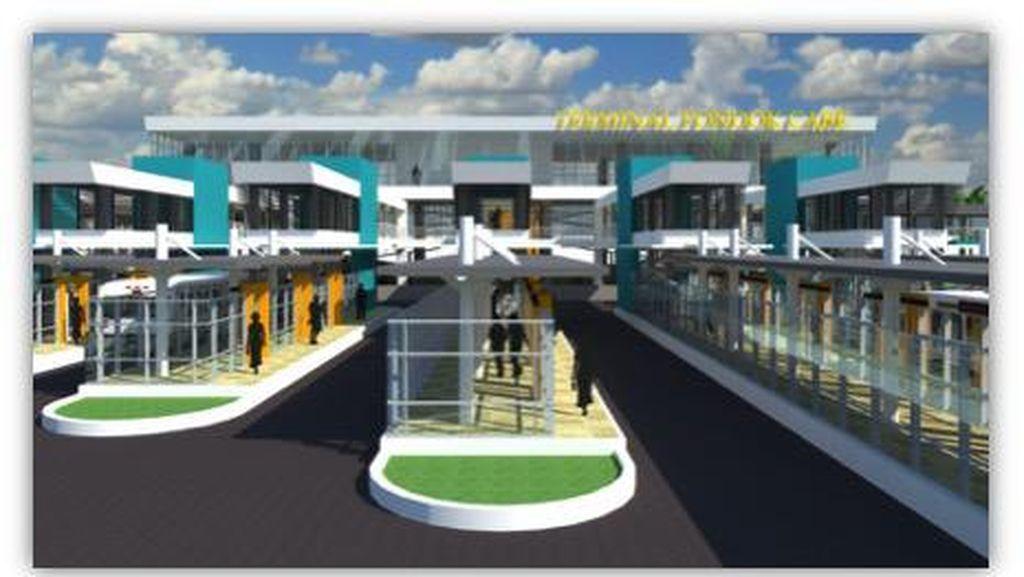 Pembangunan Terminal Bus Pondok Cabe Tahap Tiga Segera Dimulai